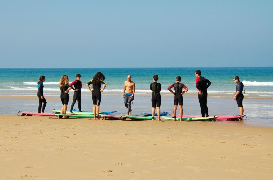 Ecole de surf el palmar cadiz