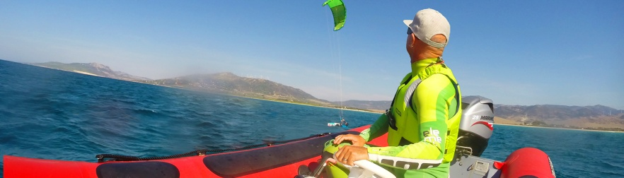 Kitesurf-Boat-Lesson-in Tarifa-Center-Tarifa